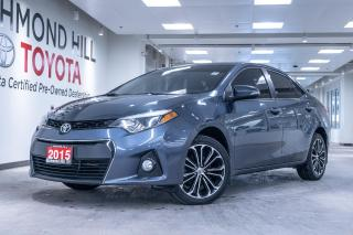 Used 2015 Toyota Corolla 4dr Sdn S Manual for sale in Richmond Hill, ON