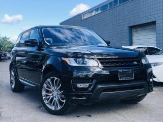 Used 2017 Land Rover Range Rover Sport |PANORAMIC|AIR SUSPENSION|WOOD TRIM|FRONT REAR SENSORS! for sale in Brampton, ON