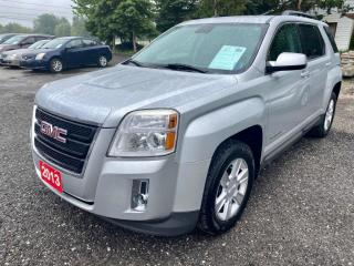 Used 2013 GMC Terrain 4 cylinder, AWD SLE-2, dealer serviced, low km's for sale in Halton Hills, ON