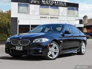 Used 2012 BMW 5 Series 535i xDrive M Sport *Head Up Display, Nav, Blindspot* for sale in Scarborough, ON