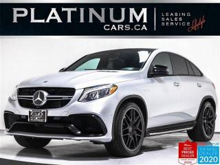 Used 2016 Mercedes-Benz GLE-Class AMG GLE63 S, 577HP, NAV, 360 CAM, CARBON for sale in Toronto, ON