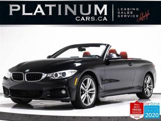 Used 2015 BMW 4 Series 435i xDrive, CONVERTIBLE, M-SPORT, NAV, CAM for sale in Toronto, ON