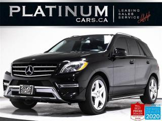 Used 2014 Mercedes-Benz ML-Class ML350 BlueTEC,AMG,NAV,360CAMERA,PANO,CLEAN CARFAX for sale in Toronto, ON