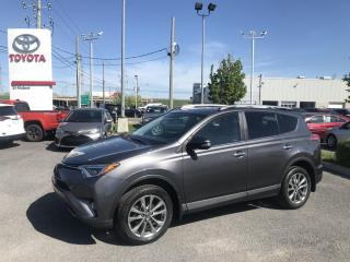 Used 2017 Toyota RAV4 AWD, Limited, NAVIGATION for sale in St-Hubert, QC