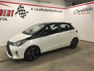 Used 2017 Toyota Yaris 5dr HB Auto SE for sale in St-Hubert, QC
