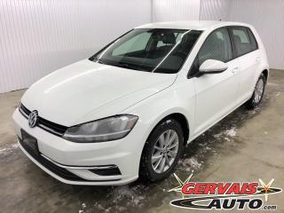 Used 2018 Volkswagen Golf TRENDLINE TSI MAGS CAMÉRA SIÈGES CHAUFFANTS *Transmission Automatique* for sale in Trois-Rivières, QC