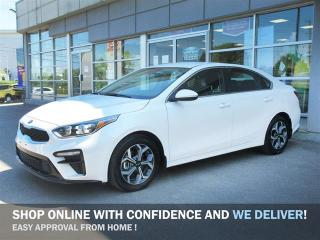 Used 2020 Kia Forte EX / Back-up Camera/Android Auto Apple Car Play/ Heated seats and steering/ Blind spot indicator/ rear cross traffic alert/ Auto emergency braking system for sale in Mississauga, ON