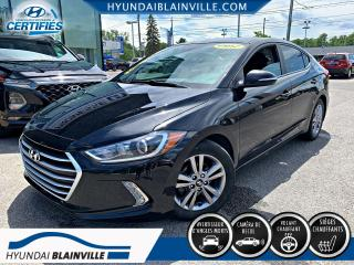 Used 2017 Hyundai Elantra GL APPLE CARPLAY, VOLANT CHAUFFANT, MAGS for sale in Blainville, QC
