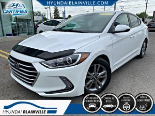 Used 2017 Hyundai Elantra GL APPLE CARPLAY, VOLANT CHAUFFANT, MAGS for sale in Blainville, QC