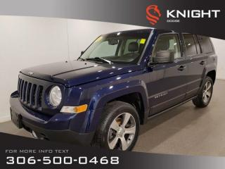 Used 2016 Jeep Patriot High Altitude 4x4 | Leather | Sunroof | Local for sale in Swift Current, SK