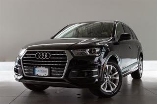 Used 2018 Audi Q7 3.0T Progressiv quattro 8sp Tiptronic -LOCAL BC VEHICLE, ACCIDENT FREE, DRIVER ASSIST PLUS PACK, NAVIGATION, FOUR-ZONE CLIMATE, VENTILATED FRONT SEATS for sale in Langley City, BC