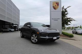 Used 2019 Porsche Cayenne Low KM, One Owner, Local, No Accident Reported for sale in Langley City, BC