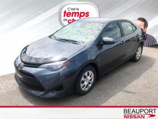 Used 2017 Toyota Corolla LE berline 4 portes CVT for sale in Beauport, QC