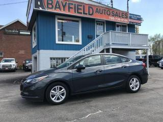 Used 2017 Chevrolet Cruze LT **Auto/Remote Start/Heated Seats** for sale in Barrie, ON
