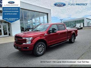 Used 2018 Ford F-150 LARIAT 4WD SUPERCREW 6.5' BOX for sale in Victoriaville, QC