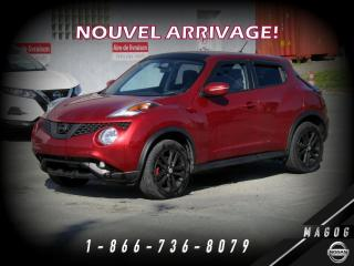 Used 2015 Nissan Juke SV AWD + BLUETOOTH + MAGS + CAMÉRA! for sale in Magog, QC
