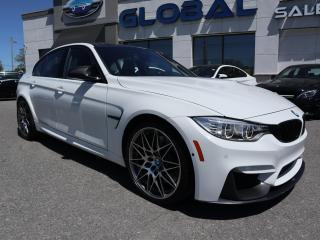 Used 2017 BMW M3 COMPETITION PKG. for sale in Ottawa, ON