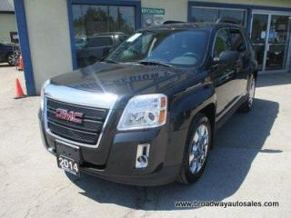 Used 2014 GMC Terrain ALL-WHEEL DRIVE SLT-1 EDITION 5 PASSENGER 3.6L - V6.. LEATHER.. HEATED SEATS.. PIONEER AUDIO.. BACK-UP CAMERA.. BLUETOOTH SYSTEM.. for sale in Bradford, ON