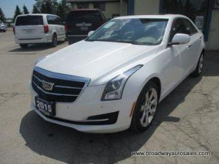 Used 2015 Cadillac ATS ALL-WHEEL DRIVE LUXURY EDITION 5 PASSENGER 2.0L - TURBO.. NAVIGATION.. LEATHER.. HEATED SEATS.. BACK-UP CAMERA.. POWER SUNROOF.. BLUETOOTH.. for sale in Bradford, ON