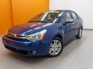 Used 2009 Ford Focus SEL AUTOMATIQUE BLUETOOTH SIÈGES CHAUFF *BAS KM* for sale in Mirabel, QC