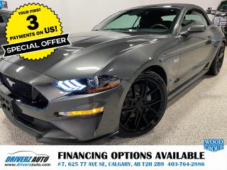Used 2018 Ford Mustang GT Premium ADAPTIVE CRUISE, BLIND SPOT , ACTIVE EXHAUST... for sale in Calgary, AB