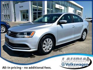 Used 2015 Volkswagen Jetta TRENDLINE+ AUTO for sale in PORT HOPE, ON