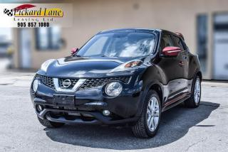 Used 2016 Nissan Juke SL NAVI|SUNROOF|REVRESE CAMERA| LOADED| CERTIFIED for sale in Bolton, ON