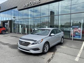 Used 2016 Hyundai Sonata GL + GARANTIE + MAGS +CAMÉRA +  BLUETOOT for sale in Alma, QC