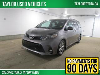 Used 2019 Toyota Sienna SE 7-Passenger SE AWD with TECHNOLOGY PACKAGE for sale in Regina, SK