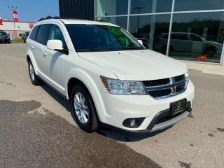 Used 2018 Dodge Journey SXT FWD, Low kilometres for sale in Ingersoll, ON