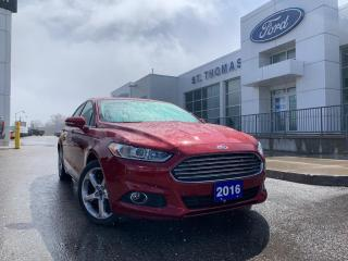 Used 2016 Ford Fusion SE for sale in St Thomas, ON