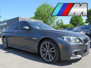 Used 2016 BMW 5 Series 535i xDrive AWD M SPORT MAGS 20 NAVI HUD HARMAN KA for sale in St-Eustache, QC