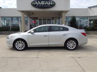 Used 2014 Buick LaCrosse Leather for sale in Tilbury, ON
