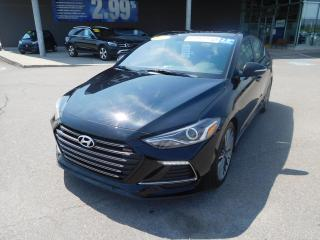 Used 2017 Hyundai Elantra 4dr Sdn DCT Sport,CUIR,A/C,CRUISE +++ for sale in Mirabel, QC
