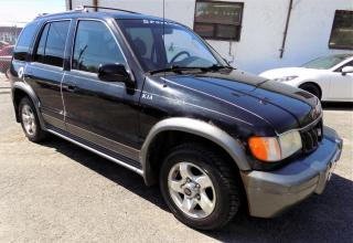 Used 2002 Kia Sportage ***AWD,4X4,MAGS,AUTOMATIQUE,BAS KILO*** for sale in Longueuil, QC