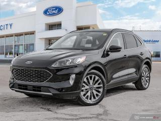New 2020 Ford Escape Titanium Hybrid for sale in Winnipeg, MB