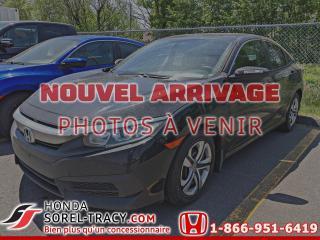 Used 2018 Honda Civic LX CVT for sale in Sorel-Tracy, QC