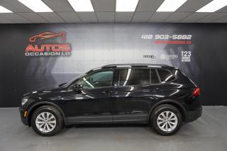 Used 2019 Volkswagen Tiguan TRENDLINE 4MOTION CARPLAY BLUETOOTH CAM 34 464 KM for sale in Lévis, QC