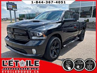 Used 2017 RAM 1500 Cabine quad 4x4 Sport V8 for sale in Jonquière, QC