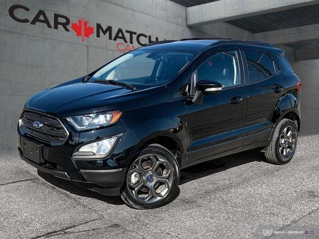 2018 Ford EcoSport SES / NO ACCIDENTS / NAV / ROOF