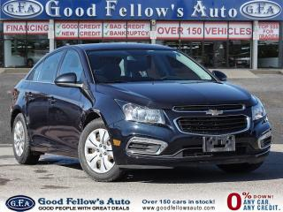 Used 2015 Chevrolet Cruze 1LT MODEL, 1.4L TURBO, REARVIEW CAMERA for sale in Toronto, ON