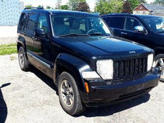 Used 2008 Jeep Liberty SOLD AS-IS NOT CERTIFIED for sale in Listowel, ON