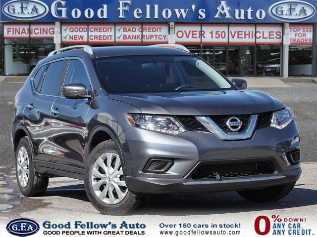 2016 Nissan Rogue S MODEL, 4CYL, PARKING ASSIST REAR, HEATED SEATS