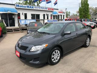 Used 2009 Toyota Corolla CE for sale in Stoney Creek, ON