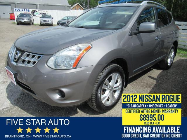 2012 Nissan Rogue S *Clean Carfax* Certified w/ 6 Month Warranty