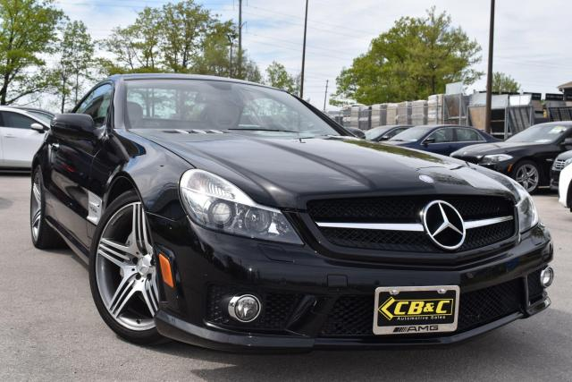 2009 Mercedes-Benz SL-Class SL63 AMG ROADSTER - NO ACCIDENTS - 518 HP BEAST!!!