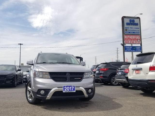 2017 Dodge Journey Crossroad navigation accident free clean carfax