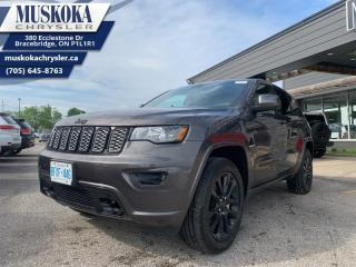 Used 2020 Jeep Grand Cherokee Altitude  - Apple CarPlay for sale in Bracebridge, ON