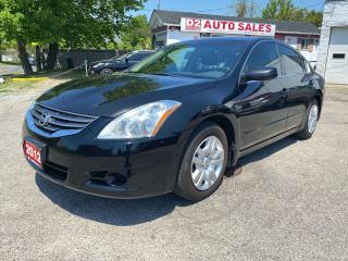 Used 2012 Nissan Altima 2.5 S/Automatic/Gas Saver/COmes Certified for sale in Scarborough, ON