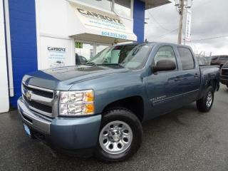 Used 2009 Chevrolet Silverado 1500 LS 4x4, Crew Cab, 4.8L V8, Tow Pkg, New A/T Tires for sale in Langley, BC